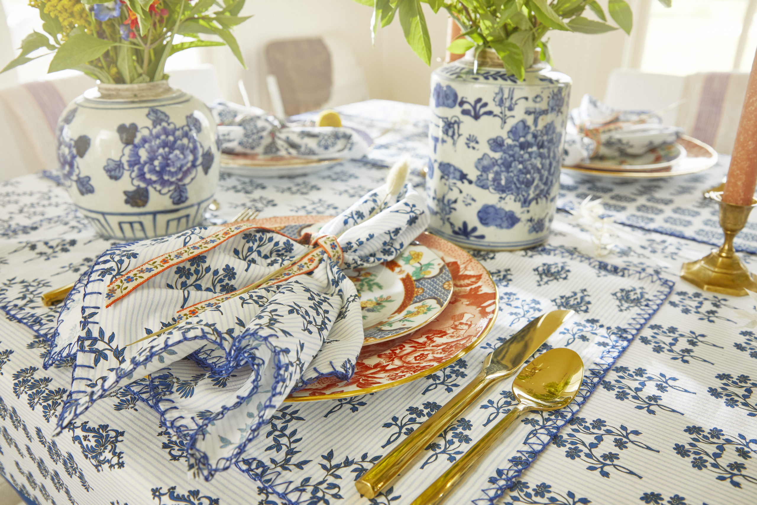 Table-Linens-Western-Willow-Blue-Hunter-Bell-7